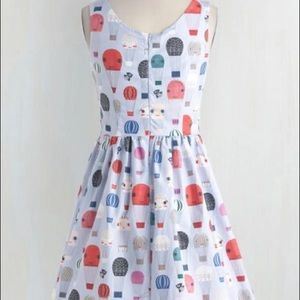 NWT ModCloth Air of adorable hot air balloon dress